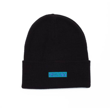 Obey Motion Beanie - Black