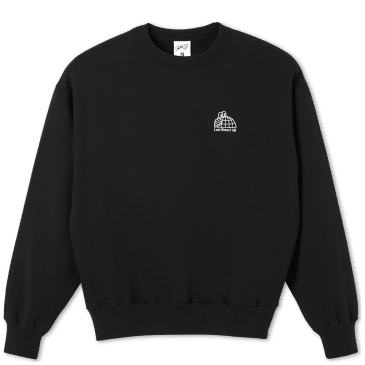 Last Resort AB Half Globe Sweatshirt - Black