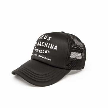 Deus Ex Machina Camperdown Address Mesh Cap - Black