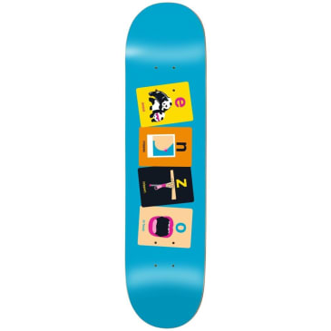 Enjoi Enzo Flashcards R7 Deck 8.375""