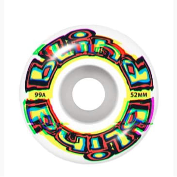Blind Glitch Yellow Wheels - 52mm