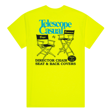 Boys of Summer Telescope Casual T-Shirt - Safety Green
