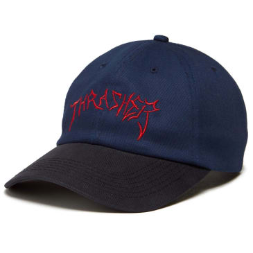 Thrasher - Lotties Old Timer Hat Navy/Red/Black