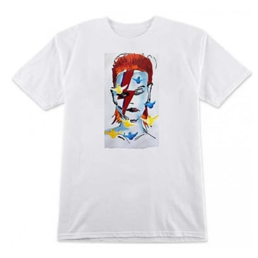 Prime - Gonz Bowie Tee - White