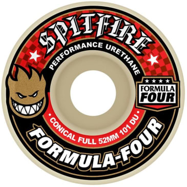 "SPITFIRE-""FORMUAL 4 FULL CONICAL WHEELS""(54MM)"