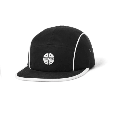 Butter Goods - Piping Camp Cap - Black