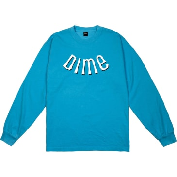 Dime Whirl Long Sleeve T-Shirt - Dark Teal