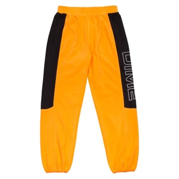 Dime Polar Fleece Track Pants - Gold/Black