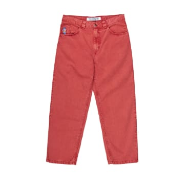 Polar Skate Co 93 Denim Washed Red
