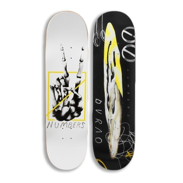 Numbers - Durao Edition 6 Debut Deck 8.375""