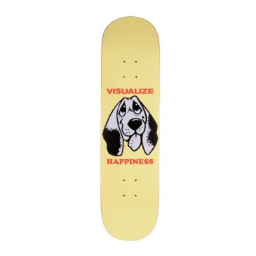 """Quasi Happiness 'Two' Deck Yellow - 8.25"""""""