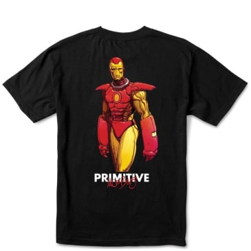 Primitive Iron Man T-Shirt - Black