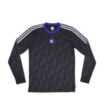 Adidas Dodson Jersey Black - Active Blue - White