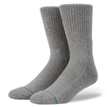 Stance Socks - Stance Icon 3 Pack Socks | Grey