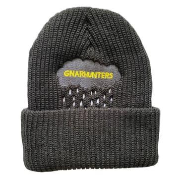 Gnarhunters Beanie Raincloud Embroidered Black