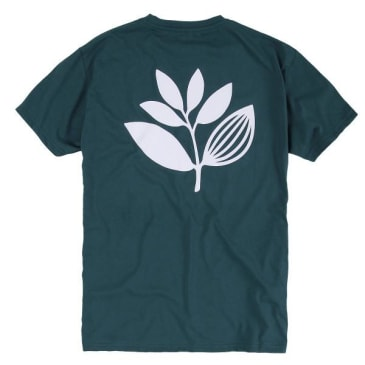 Magenta Skateboards - Magenta Classic Plant T-Shirt | Teal Blue