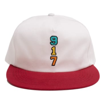 Call Me 917 Genny's 917 Hat - White / Red