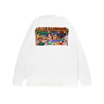 Reception - Two Guys Long Sleeve T-Shirt - White