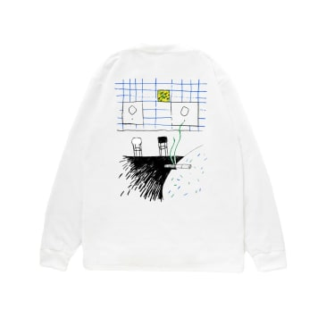 Reception - Bambino Long Sleeve T-Shirt - White