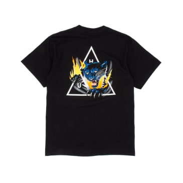 Huf Jungle Cat TT T-Shirt - Black