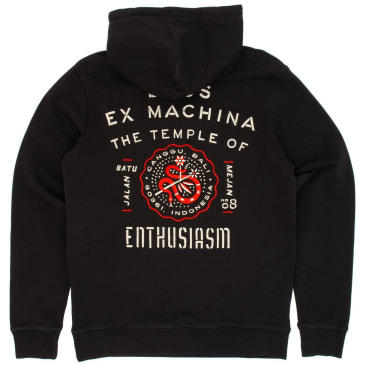 Deus Ex Machina Canggu Address Hooded Sweatshirt - Black