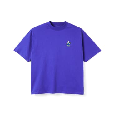 Polar Skate Co Surf T-Shirt - Blueish Purple