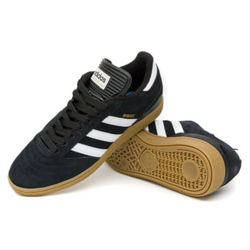 Adidas Busenitz Shoes - Black/Running White/Metallic