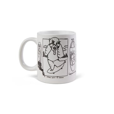 Polar Skate Co Doodle Mug - White / Multi