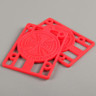 "Independent 1/8"" Riser Pads (Red)"