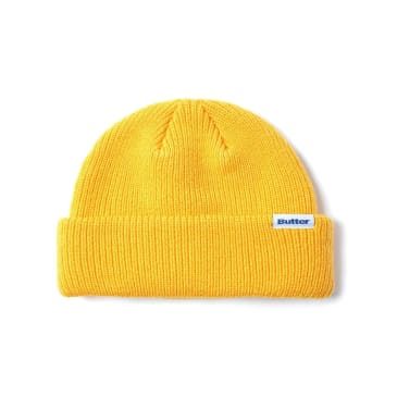 Butter Goods Wharfie Beanie - Yellow