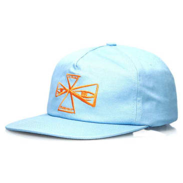 Indy Barbee Cross Cap in Powder Blue