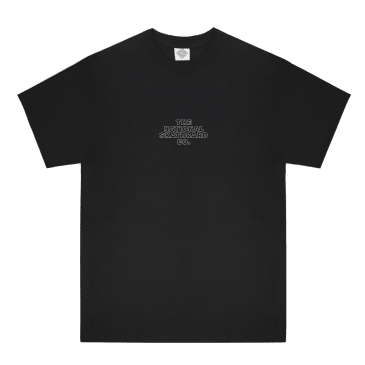 The National Skateboard Co. Classic Logo T-Shirt - Black