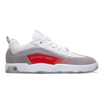 DC Legacy 98 Slim SE Skateboarding Shoe - White/Grey/Red