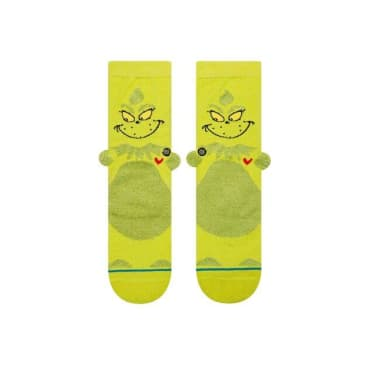 Stance 3D Grinch Kids Sock