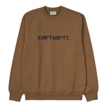 Carhartt WIP - Carhartt Sweat - Hamilton Brown