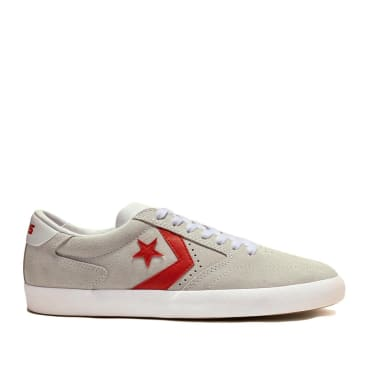 Converse CONS Checkpoint Pro Ox Shoes - White / Habanero Red