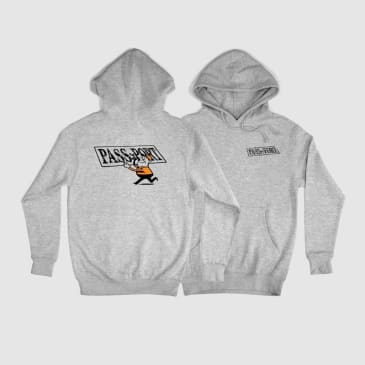 Pass~Port Mirror Man Hoodie - Heather Grey