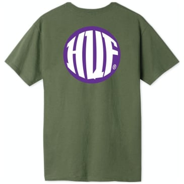 HUF Hi Def T-Shirt - Military Green