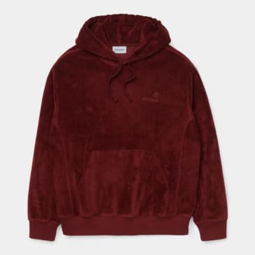 Carhartt WIP - Hooded United Script Sweat - Bordeaux