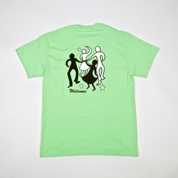 Welcome Skate Store - Dance T-Shirt - Mint Green