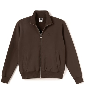 Polar Skate Co Torsten Track Jacket - Brown