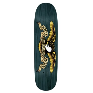 Anti Hero Skateboards Eagle Overspray Blue Meanie Deck 8.75