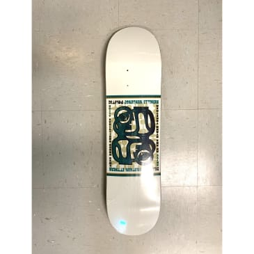 Politic Skateboards Jonathan Ettman Stamp Deck
