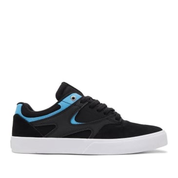 DC Kalis Vulc S Skate Shoes - Black / Blue
