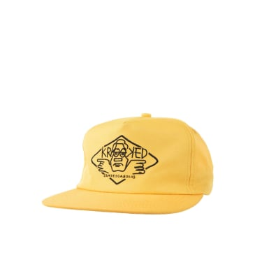 Krooked Arketype snapback, Gold