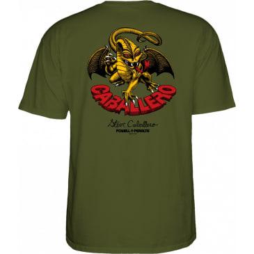 POWELL PERALTA Caballero Dragon II Tee Military Green