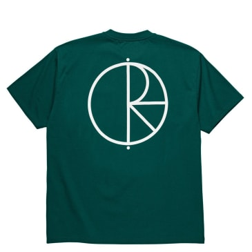 Polar Skate Co Stroke Logo T-Shirt - Dark Green