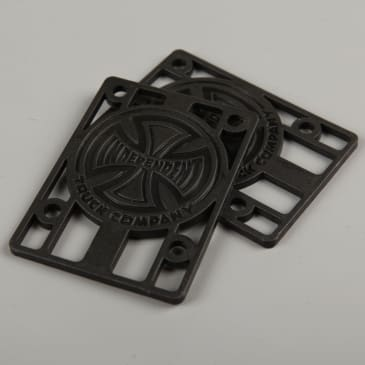 "Independent 1/8"" Riser Pads (Black)"