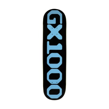 GX1000 OG Logo Skateboard Deck Black - 8.25""