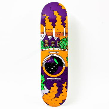 """Wolftown Black Country Reflections Series - Orange/Purple 8.125"""""""
